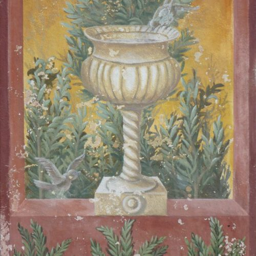 Pompeji I. Fresko auf Leinwand. 80x120cm. 420 €