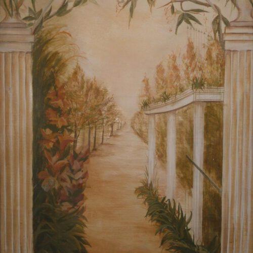 Romance. Fresko. 80x120cm, 470 €.