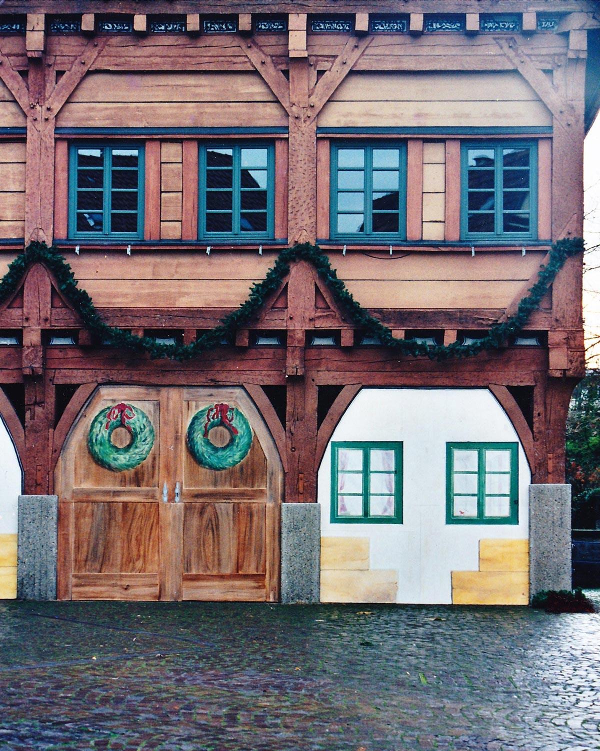 Scheinfassade Rathaus