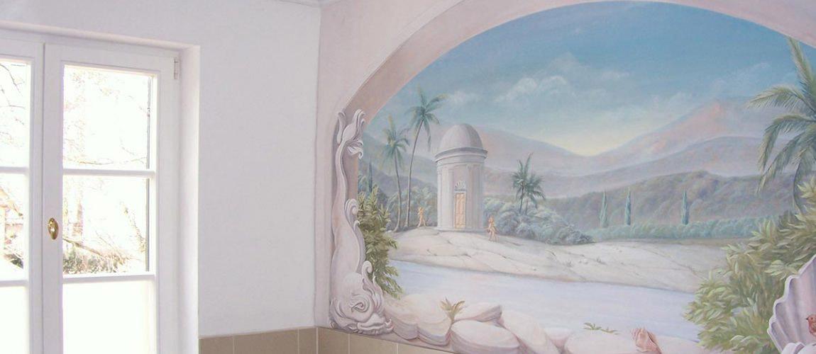 Wanddesign im Badezimmer