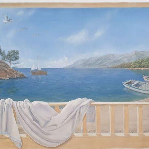 Mare. Acryl auf Leinwand. 200x100 cm, 1800 €